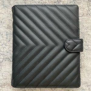 CLOTH & PAPER Caviar Leather Agenda Cover